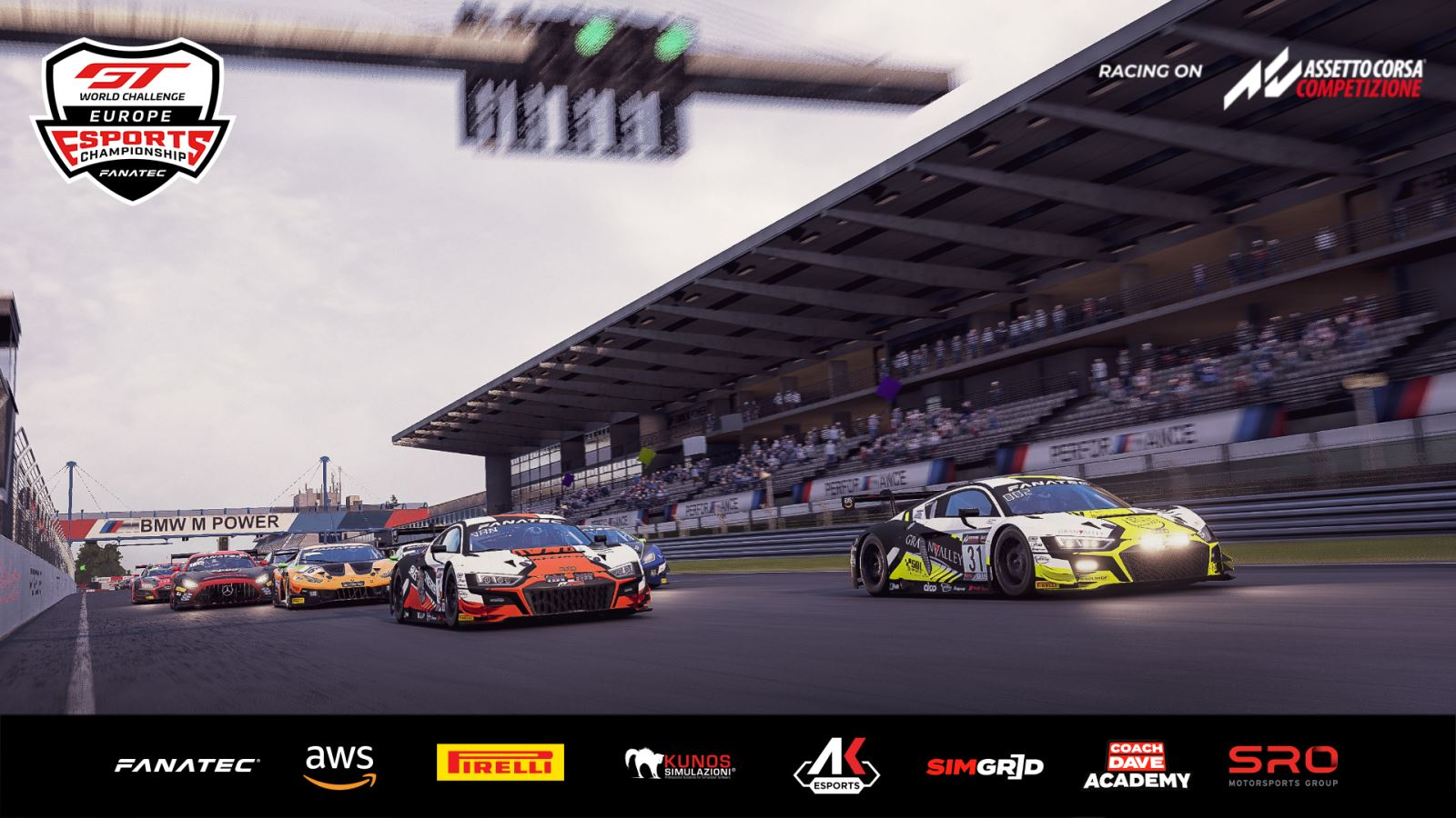 SRO E-sports - Endurance Series title up for grabs as GT World Challenge Europe Esports tackles six-hour Nürburgring contest